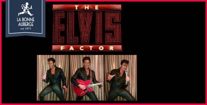 ELVIS, BUDDY HOLLY & DEAN MARTIN TRIBUTE NIGHT - FRIDAY 30TH AUGUST